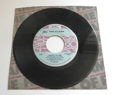 "THE CLASH-TRENO invano/LONDON CALLING 1980 CANADESE Epic HALL OF FAME 7"""
