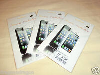 3x Apple iPhone SE / 5 / 5C / 5S PET Display Schutzfolie, OVP&NEU