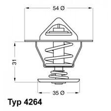 WAHLER Thermostat, coolant 4264.87D