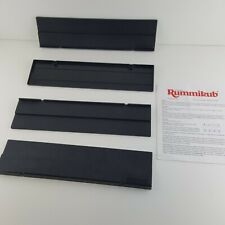Rummikub Pressman Replacement Tile Rack Holder Black Plastic Instruction Manual