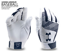 Under Armour UA Mens Clean Up Baseball Glove Batting Gloves 1299530 Navy S or M