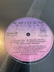 Eminem Infinite Vinyl Rare 2020 Pressing SSEP Sealed Record Press