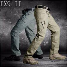 IX9 Hombres Pantalones Cargo Militar Táctico Swat Ejército Entrenamiento excursiones caza Pantalones