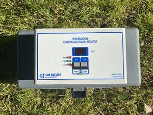 Sun Nuclear 1027 Professional Continuous Radon Monitor - Used in Good Condition
