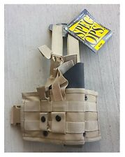 SPEC OPS Gear VAPER Holster Drop Leg Thigh Rig fits Beretta 92 M9 COYOTE Tan NEW