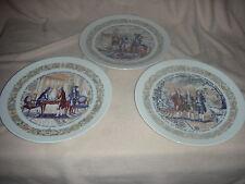 3 D'arceau - Limoges Porcelaine De Limoges France Plate, No. 123. 165 & No. 936