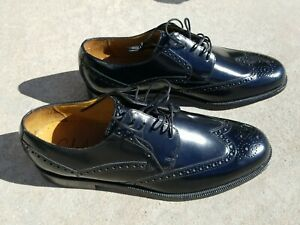 NEW Cole Haan Leather Wingtip Shoe 11 M Black Dress Lace Up Oxford