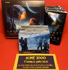 RITTENHOUSE Lost in Space SEASON 1 - 72 Card Basic Base Set + Box & Empty Packs