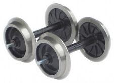Zenner Radsatz, 2 Scheibenradsätze mit Edelstahlradreifen, Spur G