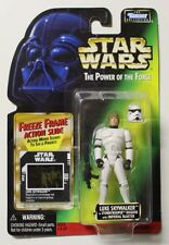 STAR WARS LUKE STORMTROOPER DISGUISE  POTF 2 FREEZE FRAME 1998 BRAND NEW!!