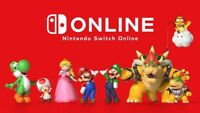 Nintendo Switch Online 12 Month Membership (expiry date : July 2021)