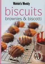 Women's Weekly - BISCUITS BROWNIES & BISCOTTI - MINI COOKBOOK - LIKE NEW