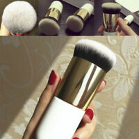 Pro Flat Foundation Face Blush Kabuki Powder Contour Cosmetic Makeup Brush Tool