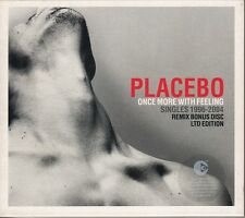 2 X CD ALBUM PLACEBO *ONCE MOR WITH FEELING* (SINGLES 1996-2004)