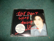 MICHAEL JACKSON THEY DON'T CARE ABOUT US CD SINGLE REMIXES