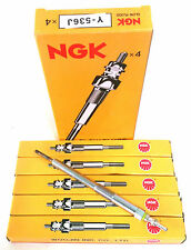 NGK Glow Plugs 5pcs Y536J for Ssangyong Actyon, Actyon Sports, Kyron, Free FedEx