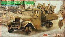 Dragon 1:35 Imperial Series Russian ZIS-5 Truck Plastic Model Kit #9023