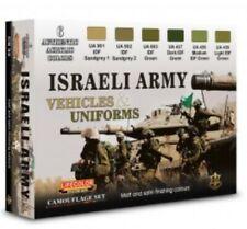 Colori Acrilici Lifecolor CS32 Carri e Uniformi Israeliane 6 tinte