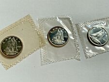 1966  CANADA SILVER DIME   CANADIAN   10  CENT COIN PROOF LIKE SEALED( 1 coin)