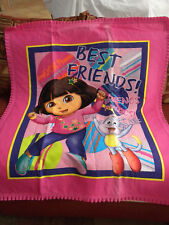 Handmade Toddler Size Quilt Blanket Dora The Explorer