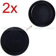 2x Tappo Copertura Corpo Camera per Sony a7 NEX 7 6 3 NEX-C3 NEX-F3 NEX-3N QX1