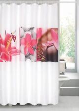 Rideau de douche en textile Bornéo rideau rideau de douche 180 x 200