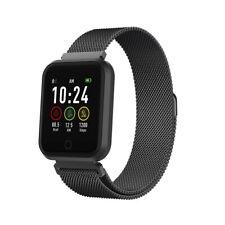 Smartwatch Fitness Bracelet Montre SW-300 Podomètre Sport Téléphone Musique Noir
