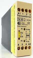 EGGS Elektronik TUI26 Trennumformer Trennverstärker Isolation Amplifier 20-30VDC