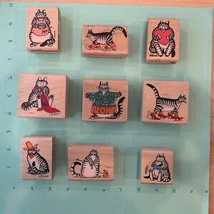 kliban rubber stamps