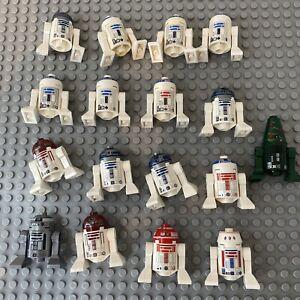 17 x LEGO Star Wars Astromech Protocol Droid Army Minifigure Joblot Bundle R2 D2