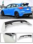 For 13-Up Ford Focus Hatchback JDM RS Style PRIMER BLACK Rear Roof Wing Spoiler
