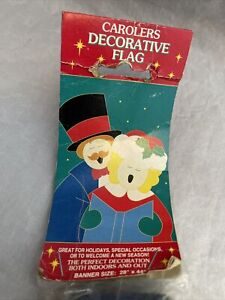 Christmas Carolers Standard House/Garden Flag by NCE #90329 NEW/FREE SHIPPING!!