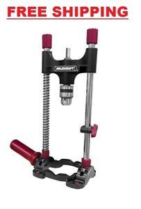 Portable Drill Press Multi-Angle Guide Attachment With Chuck 3/8
