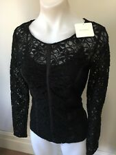 SZ 6 VERONIKA MAINE LACE TOP BUY FIVE OR MORE ITEMS GET POST