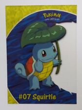 Squirtle #07 CLEAR / ACETATE Topps TV Animation Edition PC4 Trading Card