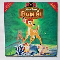 Walt Disney's BAMBI Laserdisc - Fully Restored 55th Anniversary Limited Edition