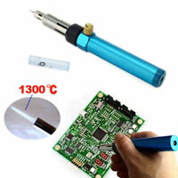3in1 Gas Blow Torch Soldering Solder Iron Gun Butane Cordless Welding Burner ON