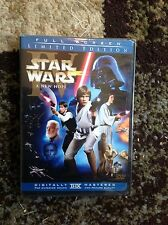 Star Wars A New Hope (DVD,2006,2-Disc,Limited Edition;Pan&Scan)NEW-Authentic US
