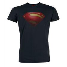 Superman Logo - T-Shirt Hero Comic Superheld Bio Baumwolle Clark Kent Lois Lane