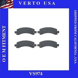 Rear Brake Pads For Chevrolet GMC Savana 2500, 2003 2004 2005 2006 2007 to 2019