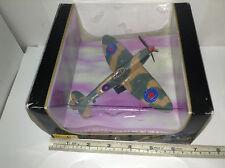 Maisto Flyers 31024 WWII MK II Spitfire Die Cast 1:72 Scale Plane w Original Box