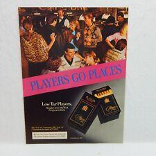 1984 PLAYERS CIGARETTE PHILIP MORRIS INC. ADVERTISEMENT