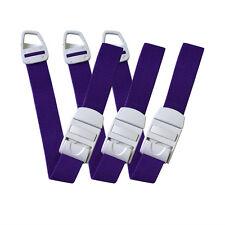 9 pcs Quick Release Paramedic Buckle Medical Tourniquet Outdoor Strap Purple