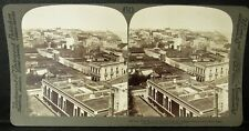 1900 SAN JUAN - PUERTO RICO STEREOVIEW, City Looking Northwest to Morro Castle
