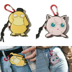 "Levis × Pokemon Jiggly Puff Psyduck Clip-on Mini Bag 4.3"" x 2.3"" x 0.4"" NEW"