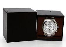 MICHAEL KORS MK8086 Silver Oversized Runway Watch 0709