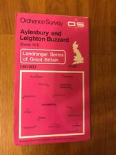 Ordnance Survey Map Sheet 165 - Aylesbury And Leighton Buzzard