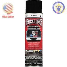 Herculiner Black Diy Truck Bed Liner Coating Spray Tough Textured Polyurethane