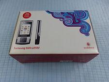 Samsung SGH-L810V Metallic Silver! Neu & OVP! Vodafone Simlock! Versiegelt! RAR!