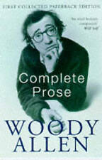 Complete Prose, Allen, Woody Paperback Book